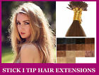★Cheveux EXTENSIONS A FROID 100% NATURELS QUALITE★ 51 CM 1G★I stick tip