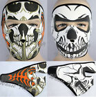 Outdoor Sports Riding Bike Motorcycle Skull Hood Full Face Mouth Mask Facemask