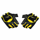 New NIKE Lightweight Cycling Gloves Short Finger Gloves , Yellow x Black