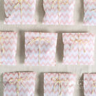 25pcs Chevron Striped Wedding Party Candy Favor Gift Paper Bags Color You Choose
