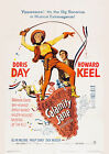 CALAMITY JANE 01 (DORIS DAY AND HOWARD KEEL) GLOSSY FILM POSTER