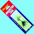 NEW Rooster Tail BLACK Spinner Lures w/ Silver Propeller -Select Size & Quantity