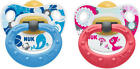 NUK HAPPY DAYS 2 PACK LATEX SOOTHER/DUMMY/PACIFIER/BINKY Baby/Toddler BN