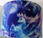 """UNICORN FABRIC  LAMPSHADE 12"""" CEILING OR TABLE LAMPSHADES"""