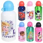 Disney / Character Metal Drink bottle with Leak proof lid - 21 Designs