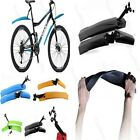 Cycling Bicycle Front Rear Fender Mud Guards Set Mudguard Bike Soft Fenders Kit