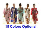 Hot Sale Women's Peacock Kimono Robe Sleepwear Yukata & Gown S M L XL XXL 3XL