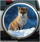 RED FOX SPARE WHEEL COVER STICKER 4X4 (CHOICE OF SIZES)