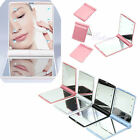 Women 8 LED Cosmetic Makeup Folding Portable Compact Pocket Mirror Lights Lamps