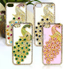 Luxury 3D Peacock Bling Crystal Diamond Hard Case Cover For Apple iPhone 5 5s 5g