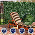 "58.5"" In Tall Artificial Faux Ivy Leaf Privacy Fence Screen Decor Panels Garden"