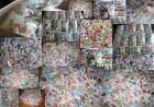 STOCK OVER 1.000.000 STAMPS 100xSTAMPS PER LOT WORLD MNH-USED DIFFERENT+BONUS