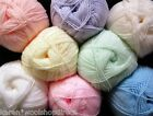 100g BALLS HIGH QUALITY WOOLCRAFT ACRYLIC BABY WOOL 4PLY KNITTING YARN