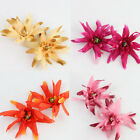 2 PCS Artificial Silk Flower Craft Heads Party Home Wedding Decoration 5 Colors