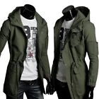 Collection Men Winter Jacket Trench Coat Military Windbreaker Parka Outwear Tops