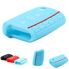 Silicone Key Cover for VOLKSWAGEN Golf 7 Skoda Octavia A7 Blue Red Black