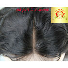 Top Lace Closure 100% Brazilian Virgin Human Hair Wigs  Body Wavy Mid-Part