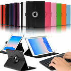 Folio Stand Rotating Smart Case Cover + Bluetooth Keyboard for iPad Air 2 (2014)