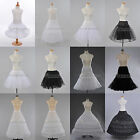 Women's 'White/Black Bridal Petticoat Underskirt Slips(US STOCK)