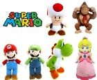"OFFICIAL NEW 8"" 12"" SUPER MARIO BROS PLUSH SOFT TOY NINTENDO TOY MARIO LUIGI"
