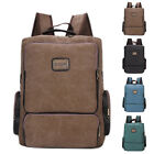 Vintage Mens Canvas Backpack Large Capacity Outdoor Travel Rucksack School Bags