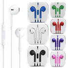 For Apple iPhone 4s 5s 6 Earphones Headphones Earbuds Remote Mic Volume Control
