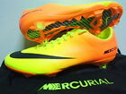 NIKE MERCURIAL VAPOR IX FG FOOTBALL SOCCER BOOTS CLEATS FIRM GROUND VOLT CITRUS