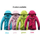 Premium Fashion Women Outdoor Climbing Hiking Sports Travel Ski Hood Jacket Coat