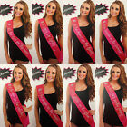 Job Lot Of 12 x Take Me Out Hen Night/Girls Night Out Flashing Material Sashes