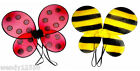 SMALL NET, LADYBIRD, BUMBLE BEE, BUTTERFLY WINGS, PARTY, RAINBOW, PASTEL, FAIRY