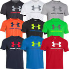 2015 Under Armour Charged Coton Sportstyle Logo Tee Maillot d'entraînement Top