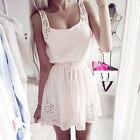 Sexy Summer Women Casual Dresses Sleeveless Cocktail Short Mini Dress Vogue