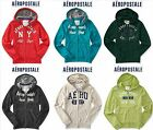 NWT AEROPOSTALE 2XL SWEATSHIRT ZIP UP HOODIE  JACKET XXL RED, GREEN, WHITE NEW
