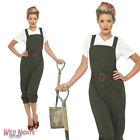 FANCY DRESS COSTUME # LADIES 1940s WW2 World War 2 LAND GIRL SIZE 8-26