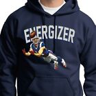 ENERGIZER Julian Edelman T-shirt NFL Patriots Just Keeps Goin Hoodie Sweatshirt