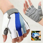 Bike Weight Lifting Body Building Power Training Gym Half Finger Gloves Mitts