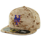 New York METS ALTERNATE DESERT CAMOUFLAGE New Era 59FIFTY Fitted Cap OnField Hat