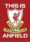 New This is Anfield Liverpool Football Club badge Poster