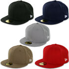 New Era Blanks 59FIFTY Fitted Original Plain Blank Cap