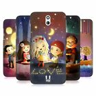 HEAD CASE DESIGNS AGLOW WITH LOVE HARD BACK CASE FOR HTC DESIRE 610
