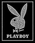 New Bunny Bling Playboy Poster Card