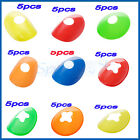 "9 CHIOCES 5PCS 2"" SPORTS DISC MARKER HALF CONES WITCHES HAT SOCCER RUGBY FITNESS"
