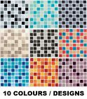 """Mosaic Tile Stickers Transfers for 148mm x 148mm / 150mm x 150mm / 6"""" x 6"""" Inch"""