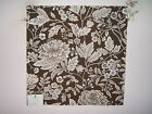 Duralee fabric remnant for crafts floral Ms Elegance multiple colors