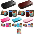 Leather Wallet Card Holder Phone Cover Case For Samsung Galaxy Light T399