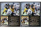 Jerome Bettis Pro Football Hall of Fame Pittsburgh Steelers Photo Card Plaque $26.95 USD