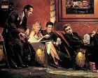 MARILYN MONROE JAMES DEAN ELVIS AND HUMPHREY BOGART ART PRINT 06