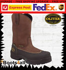"""New Oliver AT's Rigger Work Mining Boots Safety/Steel Toe 10 """"ToughPull On 65393"""