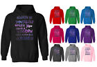 Womens Always Be Yourself Unless You Can Be A Unicorn Pullover Hoodie UK 12-20