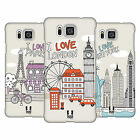 HEAD CASE DESIGNS DOODLE CITIES SERIES 1 CASE FOR SAMSUNG GALAXY ALPHA G850